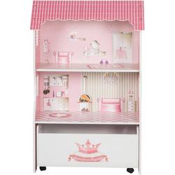 roba® Puppenhaus Puppenvilla für Ankleidepuppen