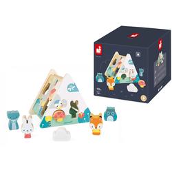 Janod Steckspielzeug Pure bunt Kinder Steck- Stapelspielzeug Baby Kleinkind