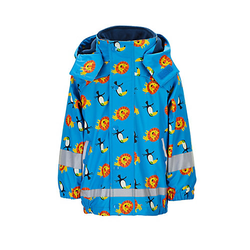 Regenbekleidung Regenjacke mit Innenjacke Regenjacken blau Gr. 74 Jungen Baby
