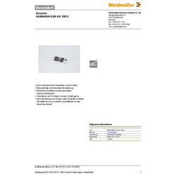 Weidmüller HUEHABA 0.34 CA 100 C 1314510000 Abisoliermesser-Ersatzmesser