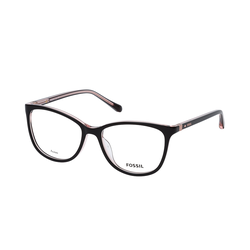 Fossil FOS 7071 3H2, inkl. Gläser, Cat Eye Brille, Damen
