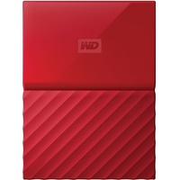 Western Digital My Passport 1TB USB 3.0 rot (WDBYNN0010BRD-WESN)