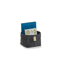 HTI-Living Aufbewahrungsbox Aufbewahrungskorb Filz (1 Stück), Aufbewahrungskorb