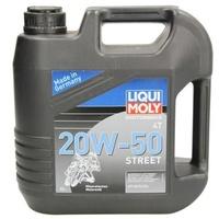 LIQUI MOLY Motorbike 4T 20W-50 Street 1696 Motoröl 4l