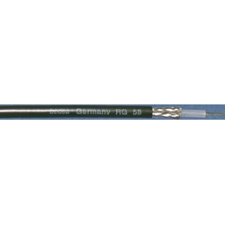 bedea Berkenhoff&Drebes RG-Kabel RG 214 sw Ri.100