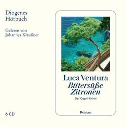 Bittersüße Zitronen als Hörbuch CD von Luca Ventura