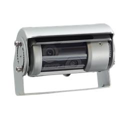 Rückfahrkamera universal Doppelshutter mit Wischer 150°
