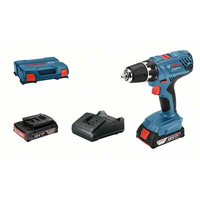 Bosch GSR 18V-21 Professional inkl. 2 x 2,0 Ah + L-Case 06019H100A