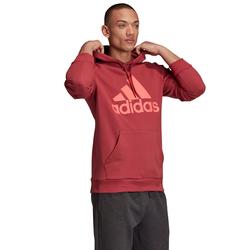 adidas Performance Hoodie BADGE OF SPORT FRENCH TERRY rot Herren Kapuzenpullover Pullover Sweatshirts