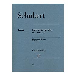 Impromptu Ges-Dur op.90 3 D 899  Klavier. Franz - Impromptu Ges-dur op. 90 Nr. 3 D 899 Schubert  - Buch