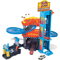 Bburago Spiel-Parkgarage StreetFire AutoGarage, inklusive 2 Fahrzeuge