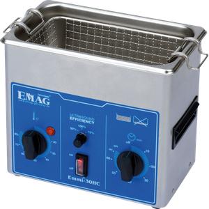 EMMI 30 HC - Ultraschallreiniger, 3 l , 200 W, mit Heizung, Edelstahl