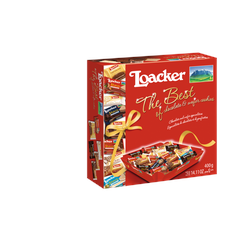 The Best of 400g - Geschenkbox mit den beliebtesten Loacker -Loacker