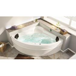 Emotion Whirlpool-Badewanne EOS Whirlpool mit der Befüllung über den Überlauf