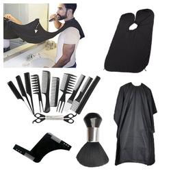 Friseurmeister Haar- und Bartschneider, Männer Friseur Set Hair Cut Scissors Kit Haarschneidescheren Set, 16 Stück Set