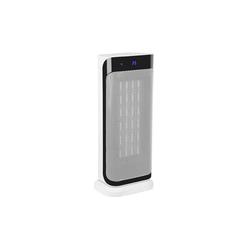 Klarstein Heizlüfter Chaval Heizturm 2.000 W Thermostat Timer Fernbedienung weiß