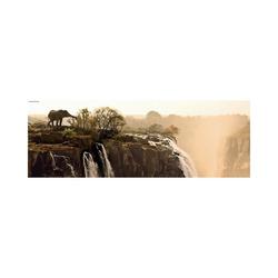 HEYE Puzzle Panorama-Puzzle 1000 Teile - Elefant, Puzzleteile