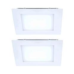2er Set LED Panels in weiß zur Decken und Wandmontage VT-800