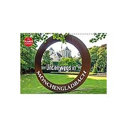 Unterwegs in Mönchengladbach (Wandkalender 2021 DIN A3 quer)