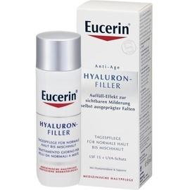 Eucerin Hyaluron-Filler Tagespflege Creme für normale bis Mischhaut LSF 15 50 ml