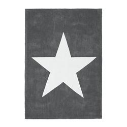 Kurzflorteppich - Cameroon - Douala Grau grau Gr. 120 x 170