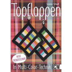 Topflappen in Multi-Color-Technik