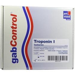 TROPONIN Schnelltestkarte Vollblut Serum Plasma 5 St