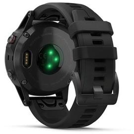 Garmin fenix 5 Plus Saphir schwarz mit schwarzem Armband