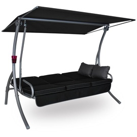 Angerer Primero Style Design Style schwarz 3-Sitzer