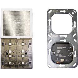 Jung Einsatz Unterputz-Radio LS 990, FD design, LS design, LS plus Creme-Weiß RAN LS 914W