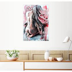 Posterlounge Wandbild, Erotische Rose 70 cm x 90 cm