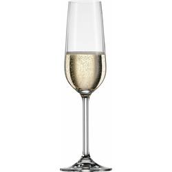 BOHEMIA SELECTION Sektglas CLARA, Kristallglas, 6-teilig