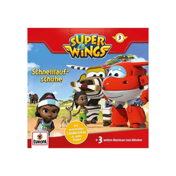 Super Wings Hörspiel CD Super Wings 3 - Schnelllaufschuhe