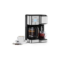 Klarstein Filterkaffeemaschine Caldetto Kaffeemaschine 1900W Heißwasserspender, 0l Kaffeekanne