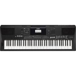 Yamaha PSR-EW410 Keyboard Schwarz inkl. Netzteil