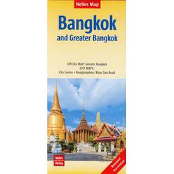 Nelles Map Bangkok and Greater Bangkok