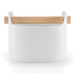 Eva Solo Aufbewahrungsbecher Toolbox Weiß 15 cm, Holz, (1-tlg)