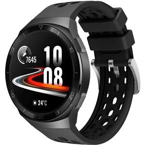Keweni Armband Kompatibel mit Huawei Watch GT 2e, Silikon Quick-Fit Ersatz Armbänder für Huawei Watch GT2e (Schwarz Schwarz)