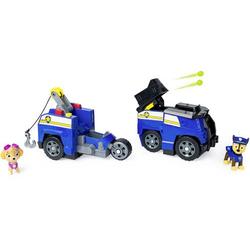 PAW Patrol Chases 2 - in - 1 - Split Second Polizeiwagen mit 2 Figuren