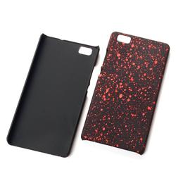 Handy Hülle Schutz Case Bumper Schale für Huawei P8 Lite 3D Sterne Rot