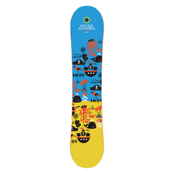 Never Summer Shredder Kinder Snowboard All mountain piste 21, Länge in cm: 90