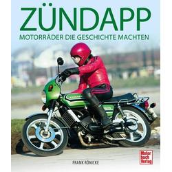 Zündapp als Buch von Frank Rönicke