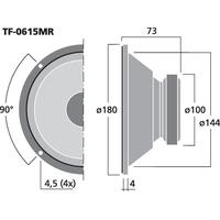 Celestion TF0615MR Basslautsprecher 100 Watt 8 Ohm