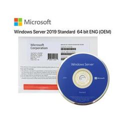 Microsoft Server Standard 2019 16 Core OEM DVD Brand New