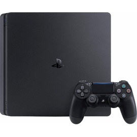 Sony PS4 Slim 1TB schwarz + Uncharted 4: A Thief's End + DriveClub + Ratchet & Clank (Bundle)