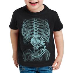 style3 Print-Shirt Kinder T-Shirt Xenomorph Alien 116