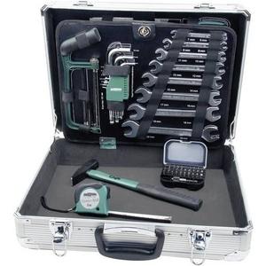 Brüder Mannesmann 29075 Heimwerker Werkzeugkoffer bestückt 108teilig