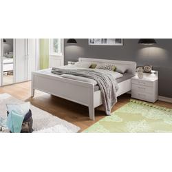 Günstiges Komfort-Doppelbett in Alpinweiß 180x190 cm - Calimera