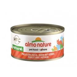 Almo Nature Natural Kip met Pompoen 70 gr  Per 6 (Legend)