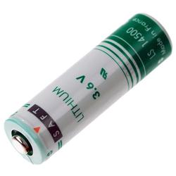 Lithium-Batterie AA Mignon, Saft CR14500, LS14500, 3.6 Volt, 2.600 mAh, wie L...